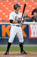 Henson, Tyler 1522.jpg. Carolina League Myrtle Beach Pelicans at the Frederick Keys at Harry Grove Stadium on May 13th 2009 in Frederick, Maryland. Photo by Andrew Woolley.