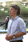 Der Berliner Trainer Bruno Labbadia gibt nach dem Spiel ein Interview -<br /><br />27.06.2020, Fussball, 1. Bundesliga, Saison 2019/2020, 34. Spieltag, Borussia Moenchengladbach - Hertha BSC Berlin,<br /><br />Foto: Johannes Kruck/POOL / via / Meuter/Nordphoto<br />Only for Editorial use