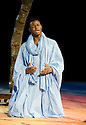 11 and 12. A CICT/Theatre des Bouffes du Nord Production adapted from the works of Amadou Hampate Ba by Marie-Helene Estienne and Peter Brook. Directed by Peter Brook.With Tunji Lucas.Opens at The Barbican Theatre on 10/2/10. Credit Geraint Lewis