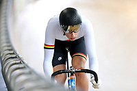 Lachlan Robertson of Waikato BOP competes in the U17 Boys Sprint race  at the Age Group Track National Championships, Avantidrome, Home of Cycling, Cambridge, New Zealand, Friday, March 17, 2017. Mandatory Credit: © Dianne Manson/CyclingNZ  **NO ARCHIVING**