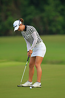 Minjee Lee (AUS) in action on the 1st during Round 2 of the HSBC Womens Champions 2018 at Sentosa Golf Club on the Friday 2nd March 2018.<br /> Picture:  Thos Caffrey / www.golffile.ie<br /> <br /> All photo usage must carry mandatory copyright credit (&copy; Golffile | Thos Caffrey)