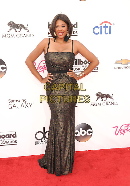 LAS VEGAS, CA- MAY 18: TV personality Shaneen Quarles arrives at the 2014 Billboard Music Awards at the MGM Grand Garden Arena on May 18, 2014 in Las Vegas, Nevada.<br /> CAP/ROT/TM<br /> &copy;Tony Michaels/Roth Stock/Capital Pictures