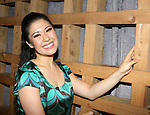 """Here Lies Love"" Actress Ruthie Ann Miles photographed at Hudson Terrace on July 31, 2013 in New York City."