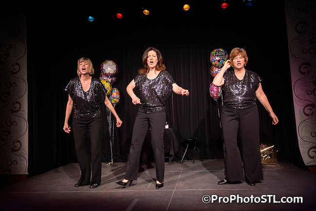 St. Louis Sirens Birthday Bash at Kranzberg Arts Center in St. Louis, MO on Feb 9, 2013.