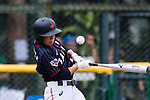 #5 Hiruta Natsuki of Japan bats during the BFA Women's Baseball Asian Cup match between South Korea and Japan at Sai Tso Wan Recreation Ground on September 2, 2017 in Hong Kong. Photo by Marcio Rodrigo Machado / Power Sport Images