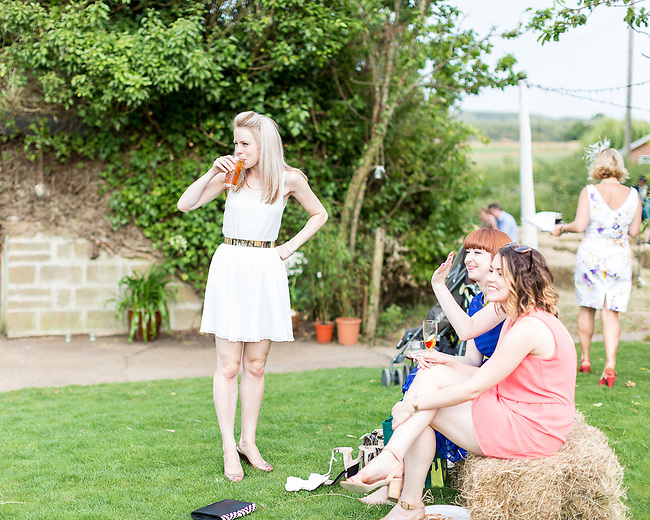 The Wedding of Hannah Collinge and Mark Tobitt,  held at Whitehouse Farm, Porchfield, Isle of Wight on the 26th July 2014.