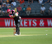 26th December 2019; Optus Stadium, Perth, Western Australia, Australia;  Big Bash League Cricket, Perth Scorchers versus Sydney Sixers; James Vince of the Sydney Sixers plays the ball through the leg side - Editorial Use