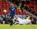 06.09.2019 Scotland v Russia, European Championship 2020 qualifying round, Hampden Park:<br /> Matt Phillips and Mario Fernandes
