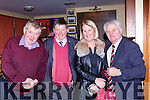 Ben Brosnan, Ted Leizcynesky, Noreen Murphy and Dan Dwyer at the launch of the Sliabh Luachra Journel in Gneeveguilla GAA hall on Friday night