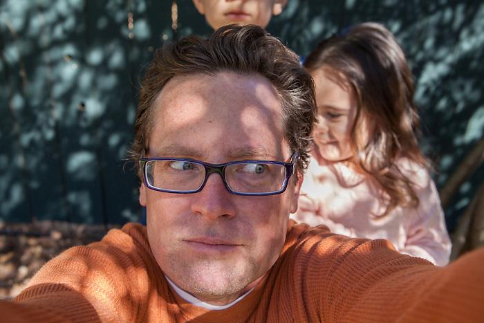 Collosi family portraits in San Mateo, California in the Bay Area. Jaunuary, 2013.