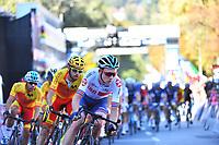 Picture by Simon Wilkinson/SWpix.com - 30/09/2018 - Cycling 2018 Road Cycling World Championships Innsbruck-Tirol, Austria - Men's Elite Road Race - Tao Geoghegan Hart of Great Britain.
