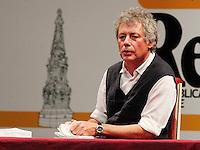 Repubblica delle idee Napoli<br /> nella foto Il Giovane Holder di Salinger   reading di Alessandro Baricco<br /> <br /> foto ciro de luca