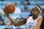 30 October 2013: North Carolina's Diamond DeShields. The University of North Carolina Tar Heels played the Carson-Newman College Eagles in a women's college basketball exhibition game at Carmichael Arena in Chapel Hill, North Carolina. UNC won the preseason game 111-50.