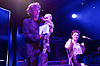 An Evening with... Amanda Palmer and her father Jack Palmer and guests including Neil Gaiman performing live at KOKO, Camden Town, London, Great Britain <br /> 3rd June 2016<br /> <br /> Amanda Palmer  with Neil Gaiman and son Ash <br /> <br /> <br /> Photograph by Elliott Franks <br /> Image licensed to Elliott Franks Photography Services