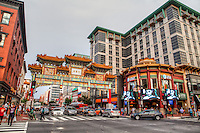 Chinatown Arch Friendship Archway H Street NW Washington DC Architecture