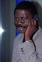 31st March 2020, France; It has been announced that Pape Diouf, ex-President of League 1 football club in France has died from Covid-19 Coroma Virus.   FOOTBALL - SEASON 1998/99 PAPE DIOUF