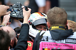 26.08.2018, Circuit de Spa-Francorchamps, Spa-Franchorchamps, FORMULA 1 2018 JOHNNIE WALKER BELGIAN GRAND PRIX, 23. - 26.08.2018<br /> , im Bild<br />Sieger Sebastian Vettel (GER#5), Scuderia Ferrari<br /> Foto &copy; nordphoto / Bratic