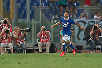 Argentina beats Italy 2-1 during the international friendly between Italy vs Argentina at Stadio Olimpico, in Rome, on August 14, 2013 in Rome. In the photo: lorenzo Insigne Italy. Photo: Adamo Di Loreto/BuenaVista*photo