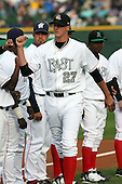 June 17th 2008:  Bryan Augenstein of the South Bend Silver Hawks, Class-A affiliate of the Arizona Diamondbacks, during the Midwest League All-Star Game at Dow Diamond in Midland, MI.  Photo by:  Mike Janes/Four Seam Images