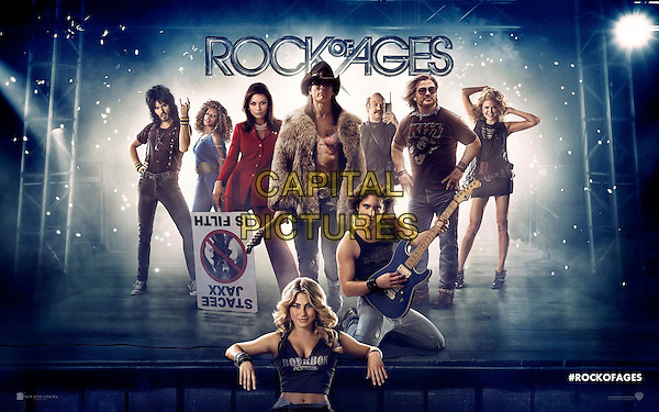 Wallpaper Poster Art.in Rock of Ages (2012) .*Filmstill - Editorial Use Only*.CAP/NFS.Supplied by Capital Pictures.