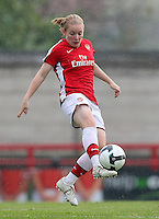 Kim Little of Arsenal - Arsenal Ladies vs Sparta Prague - UEFA Women's Champions League at Boreham Wood FC - 11/11/09 - MANDATORY CREDIT: Gavin Ellis/TGSPHOTO - Self billing applies where appropriate - Tel: 0845 094 6026