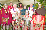 ROMAN'S INVADE: Member's of Romans Ireland invading the Ardfert Summer Festival on Sunday front l-r: Ronan Doherty and Pat Foley. Back l-r: John McSweeney, Mark Corcoran, Michael Gaspane, Eoghan Healy, Roisin Hurley, Paul Murphy and Joseph Saleh.