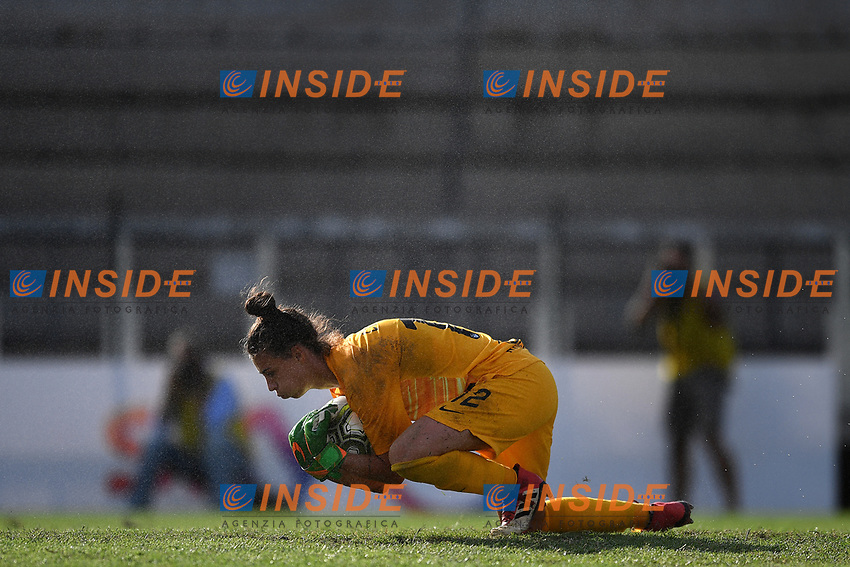 Camelia Ceasar of AS Roma  warms up <br /> Roma 8/9/2019 Stadio Tre Fontane <br /> Luisa Petrucci Trophy 2019<br /> AS Roma - Paris Saint Germain<br /> Photo Andrea Staccioli / Insidefoto