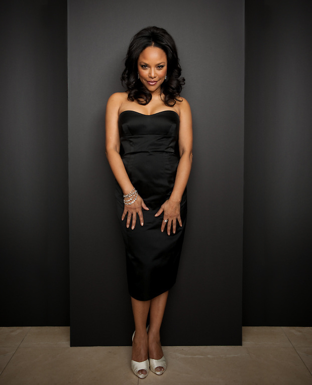 Lynn Whitfield photographed for The Creative Coalition at Haven House in Beverly Hills, California on February 19, 2009
