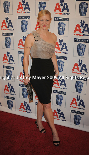 CENTURY CITY, CA. - November 05: Teri Polo attends the 18th Annual BAFTA/LA Britannia Awards at the Hyatt Regency Century Plaza Hotel on November 5, 2009 in Century City, California.