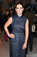 Kirsty Gallagher<br /> at the Jasper Conran AW17 show as part of London Fashion Week AW17 at Claridges, London.<br /> <br /> <br /> &copy;Ash Knotek  D3230  17/02/2017
