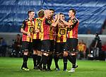 2018-08-27 / Voetbal / Seizoen 2018-2019 / KV Mechelen - Albert Quevy Mons /  Cl&eacute;ment Tainmont viert na de 2-0<br /> <br /> ,Foto: Mpics