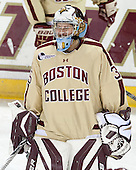 Taylor Blake (BC - 35) - The Boston College Eagles defeated the visiting University of Maine Black Bears 10-0 on Saturday, December 1, 2012, at Kelley Rink in Conte Forum in Chestnut Hill, Massachusetts.