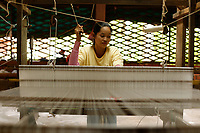 Silk factory , Siem Reap<br /> , Cambodia<br /> <br /> PHOTO :  Agence Quebec Presse<br /> <br /> <br /> <br /> <br /> <br /> PHOTO : Agence Quebec Presse