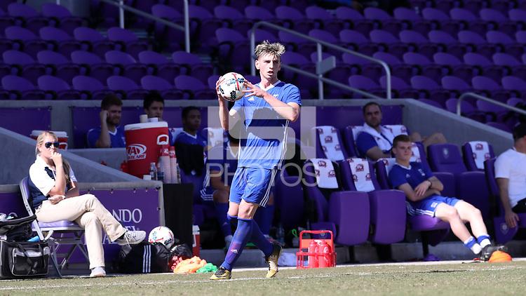 Orlando, Florida - Wednesday January 17, 2018: Tristan Blackmon. Match Day 3 of the 2018 adidas MLS Player Combine was held Orlando City Stadium.