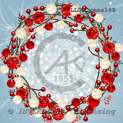 Sinead, XMAS, napkins, paintings,+wreath++++,LLSJXMAS149,#xmas# Servietten, Weihnachten, servilleta, Navidad, illustrations, pinturas