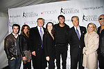 Kevin Jonas & wife Dani, Donald Trump, Sarah Hughes, Even Lysecek, Terry and Tina Lundgren and Dee Snider at the 2012 Skating with the Stars - a benefit gala for Figure Skating in Harlem celebrating 15 years on April 2, 2012 at Central Park's Wollman Rink, New York City, New York.  (Photo by Sue Coflin/Max Photos)