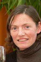Marjorie Gallet, owner winemaker. Domaine Le Roc des Anges, Montner, Roussillon, France