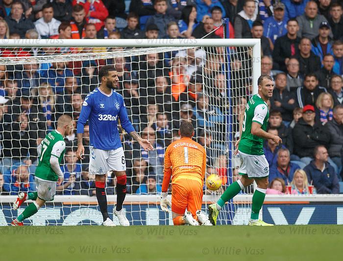 11.08.2019 Rangers v Hibs: Hibs pull a goal back