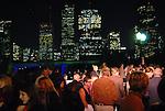 The scene at the Buffalo Bayou Partnership's annual Ball on the Sabine St. bridge Thursday Nov. 05,2009. (Dave Rossman/For the Chronicle)