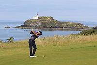 Nicolas Colsaerts (BEL) on the 4th fairway during Round 1 of the Aberdeen Standard Investments Scottish Open 2019 at The Renaissance Club, North Berwick, Scotland on Thursday 11th July 2019.<br /> Picture:  Thos Caffrey / Golffile<br /> <br /> All photos usage must carry mandatory copyright credit (© Golffile | Thos Caffrey)