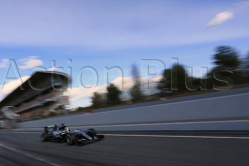 03.03.2016. Barcelona, Spain. Formula 1 Winter Testing at Circuit de Barcelona Catalunya Test 2 Day 3.  Mercedes AMG Petronas W07 Hybrid – Lewis Hamilton