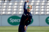 Simon Harmer of Essex has an early morning warm up prior to Essex CCC vs Nottinghamshire CCC, Specsavers County Championship Division 1 Cricket at The Cloudfm County Ground on 16th May 2019