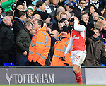 Arsenal's Francis Coquelin looks on dejected as he gets sent off<br /> <br /> - English Premier League - Tottenham Hotspur vs Arsenal  - White Hart Lane - London - England - 5th March 2016 - Pic David Klein/Sportimage