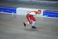 SCHAATSEN: HEERENVEEN: 17-06-2014, IJsstadion Thialf, Zomerijs training, Team Corendon, Maurice Vriend, ©foto Martin de Jong