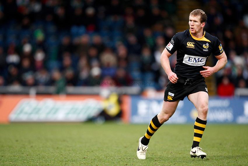 Photo: Richard Lane/Richard Lane Photography.London Wasps v London Irish. Aviva Premiership. 21/11/2010. Wasps' Tom Rees.