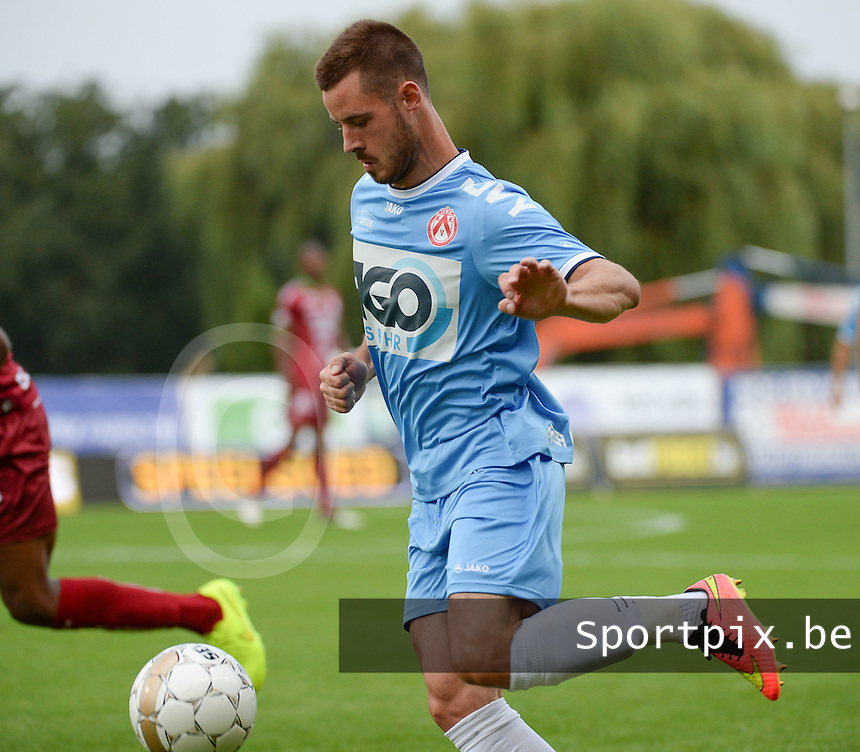 KV Kortrijk  : Baptiste Ulens <br /> foto VDB / BART VANDENBROUCKE