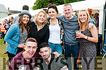 Enchanted Lands Music Festival: Attending  the Enchanted Lands Music Festival in Kilflynn on Saturday night last were in front Niall Meehan & Michael Harmon. Back : Jenny & Lorna Marshall, Kathleen McElligott, Kevin McElligott & Helena Brennan.