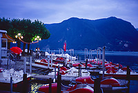 Lungolago, Lugano, Ticino, Switzerland, 2018.