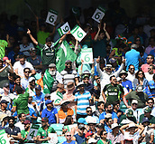 June 18th 2017, The Kia Oval, London, England;  ICC Champions Trophy Cricket Final; India versus Pakistan; The crowd applaud a six from Azhar Ali of Pakistan