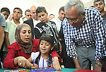 Palestinian Prime Minister, Salam Fayyad attends the opening of the center of Yatta Municipality, in the West Bank of Hebron  on June 24, 2012. Photo by Mahmoud  Hrebat
